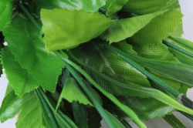 искусственное растение - розы одиночные (10 шт в уп) неон