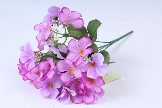Искусственное растение - Фиалки сиреневые