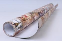Бумага ГЛЯНЕЦ  100/638 Винотека 68*98см (10 листов)