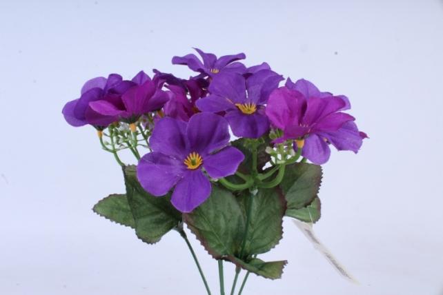Искусственное растение - Фиалки фиолетовые