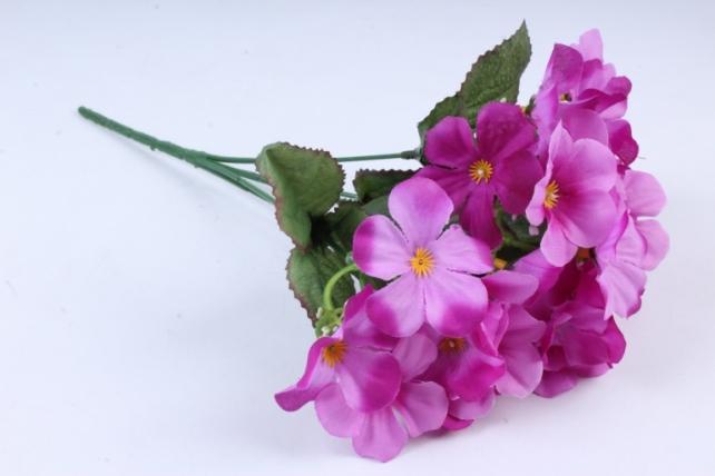 Искусственное растение - Фиалки пурпурные