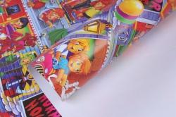 Бумага подарочная Детская  0,7*1м в листах  (25 шт.) Польша