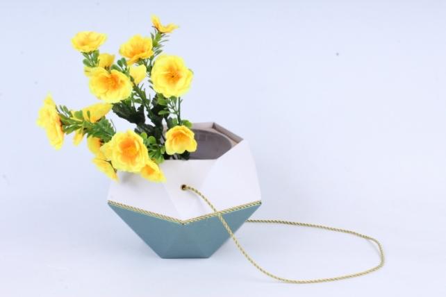 Искусственное растение - Маки махровые жёлтые