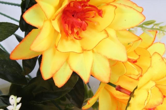 Искусственное растение - Герберы жёлтые
