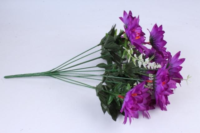 Искусственное растение - Герберы фиолетовые