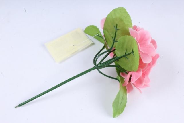 Искусственное растение - Фиалки мини персик