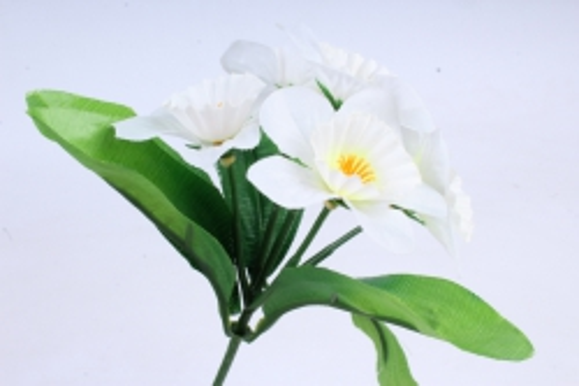 Искусственное растение - Нарциссы  белые