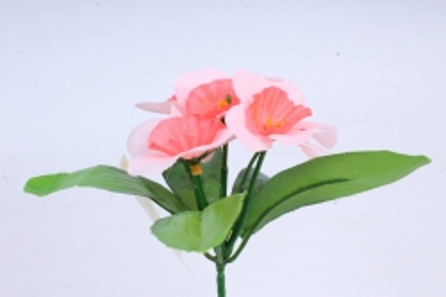 Искусственное растение - Нарциссы розовые
