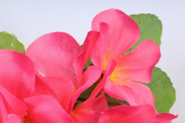 Искусственное растение - Фиалки мини  ярко-розовые
