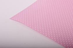 """Бумага на золотой основе """"Крапинка"""" (розовый) 53см*10м GOL-1030"""