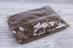 бисер декоративный   шоколад №53 (450гр)