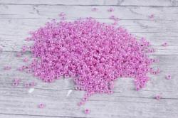 бисер декоративный  сиренево-розовый №155  (450гр)