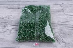 бисер декоративный  изумруд №27  (450гр)