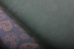 """Бумага на золотой основе """"Полянка"""" (зеленый) 53см*10м GOL-1060"""