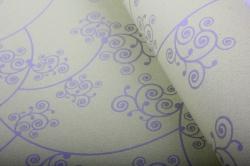 """Бумага на золотой основе """"Узор"""" (светло-зеленый) 53см*10м GOL-1080"""