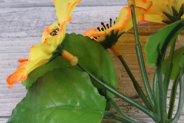 искусственное растение - анемоны  неон