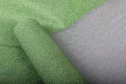 Упаковочная подарочная пленка 50cmx5m зеленый на метал.основе