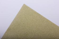 Упаковочная подарочная пленка 50cmx5m золотой на метал.основе