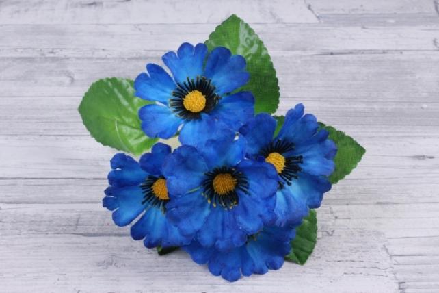 Искусственное растение - Анемоны  синие