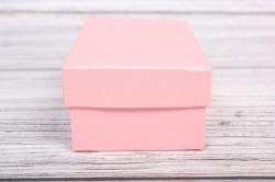 Набор подарочных коробок из 10шт - Прямоугольник глубокие Розовый Перламутр32,5х20х12,5см Пин10-РозП