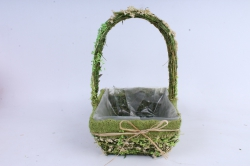 SL17047 Комплект корзин из травы набор из 2-х шт