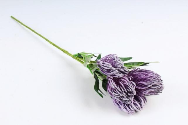 Искусственное растение - Протея  сиреневая ZQ017
