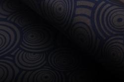 """Бумага на золотой основе """"Круги"""" (синий) GOL-1017"""