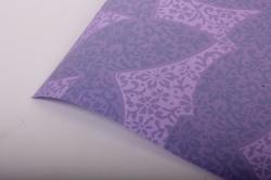 """Бумага на золотой основе """"Листья"""" (фиолетовый) GOL-1052"""