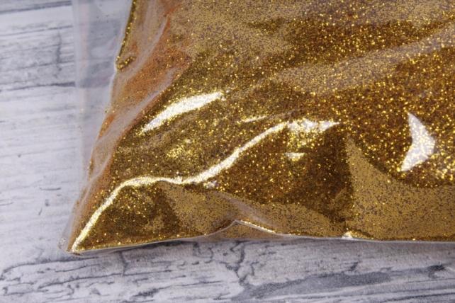 Блестки цветные  1 кг золото