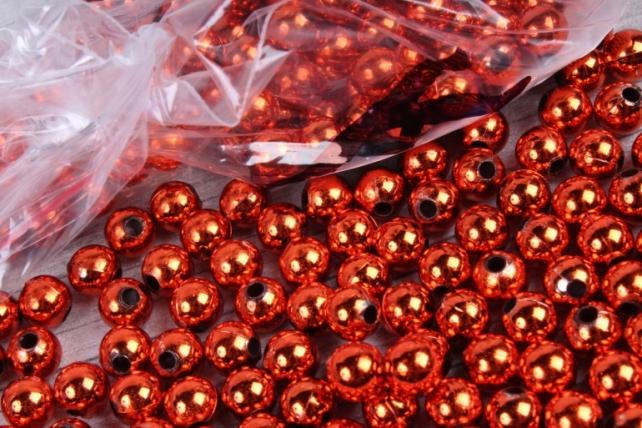Бусины (А) металл кирпичный  в пакете 100гр