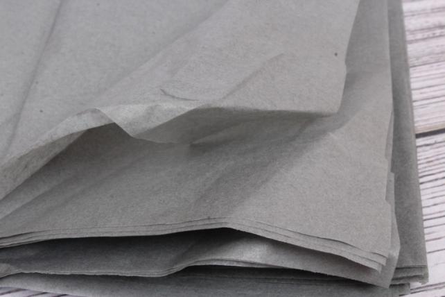 Бумага тишью 51*66см  Серая в листах 17гр 10 листов  430  PTQ430 (М)
