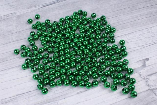 Бусины (А) металл хакки   в пакете 100гр