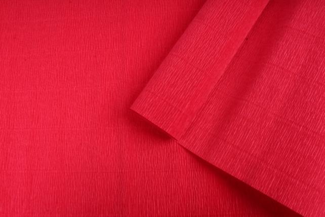 Бумага гофрированная простая 980 красный 140гр