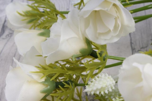 Искусственное растение - Роза ниспадающая шампань