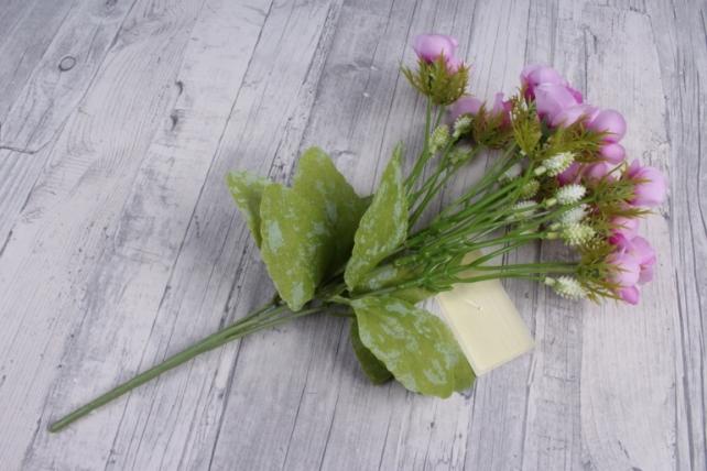 Искусственное растение - Роза ниспадающая сиреневая