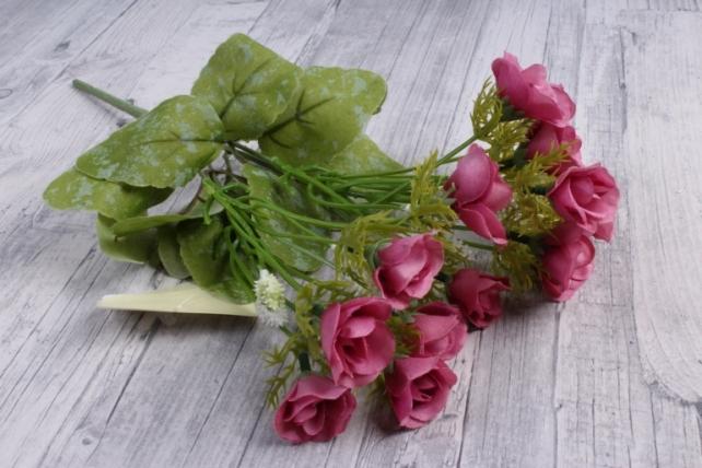 Искусственное растение - Роза ниспадающая пепельно-розовая