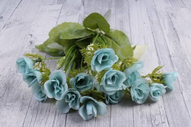 Искусственное растение - Роза ниспадающая голубая