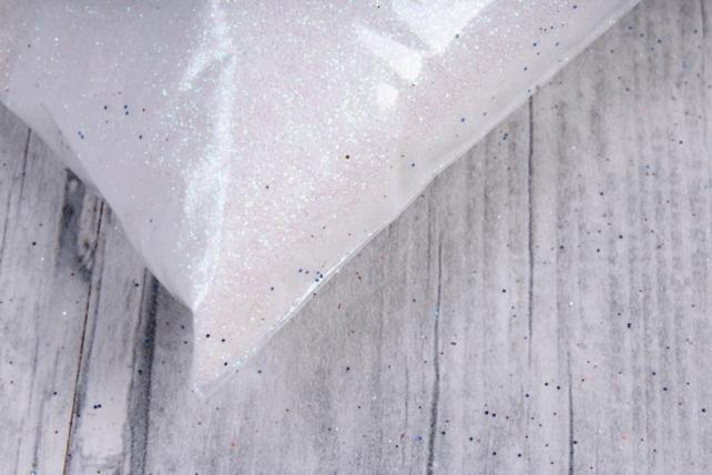 блестки цветные 1 кг перламутр белый