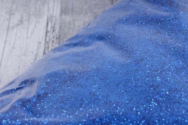 блестки цветные 1 кг металл синий