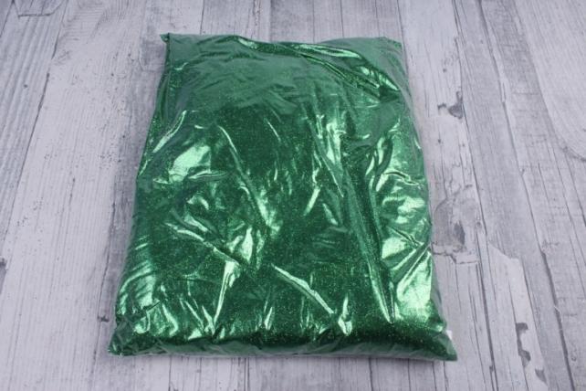 блестки цветные 0.5 кг металл зеленый