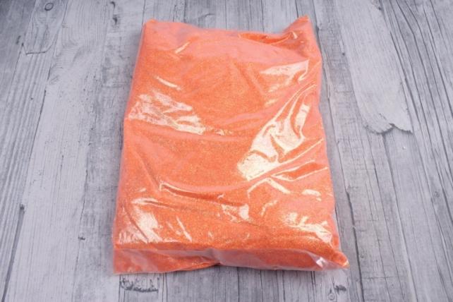 блестки цветные 1 кг перламутр оранжевый