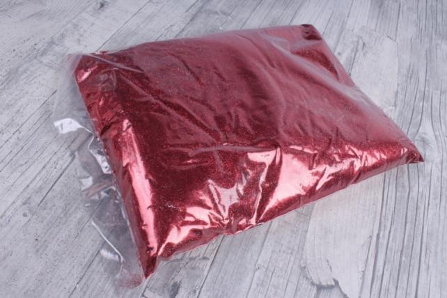 блестки цветные 1 кг металл красный
