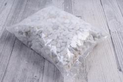 Грунт окатанный лакированный, 4-8 мм, 1кг, белый  5048