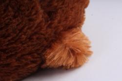 Игрушка мягкая Медведь с бантом  Коричневый  М-2956/40