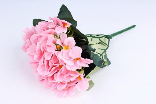 Искусственное растение - Фиалки Букет светло-розовые