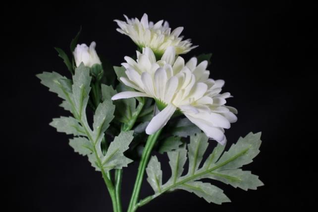Искусственное растение - Хризантема Шампань 35 см SUN530