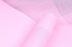 """Упаковочный Материал Двухсторонняя глянцевая бумага """"Нити"""", 50 см х 5м Розовый"""