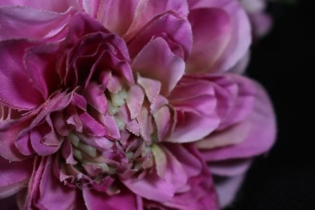 Искусственное растение - Георгина одиночная Малиновая 33 см SUN531