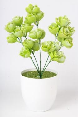 Искусственное растение - Хмель салатовый 25см