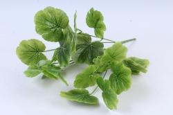 Искусственное растение - Листья герани зелёные